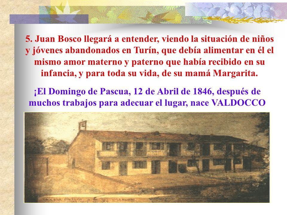 Cuenta san Juan Bosco, sacerdote: Turín, 5 de Junio de 1841. En la Capilla del Arzobispado Juan Bosco, por imposición de las manos del obispo Luis Fra