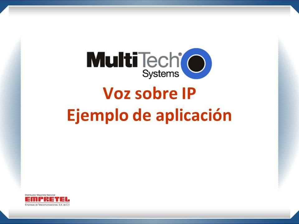 Voz sobre IP Ejemplo de aplicación