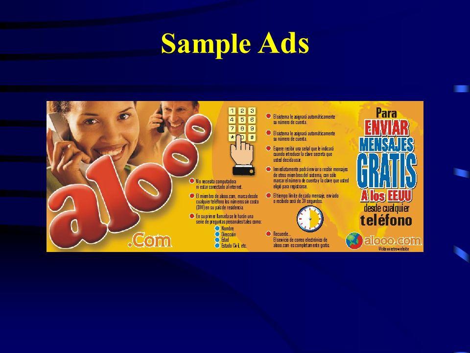 Problemas con Regulaciones ? NINGUNO -Alooo.com utiliza para el transporte de los mensajes de voz, un sistema comercial de correo electrónico. -El cor