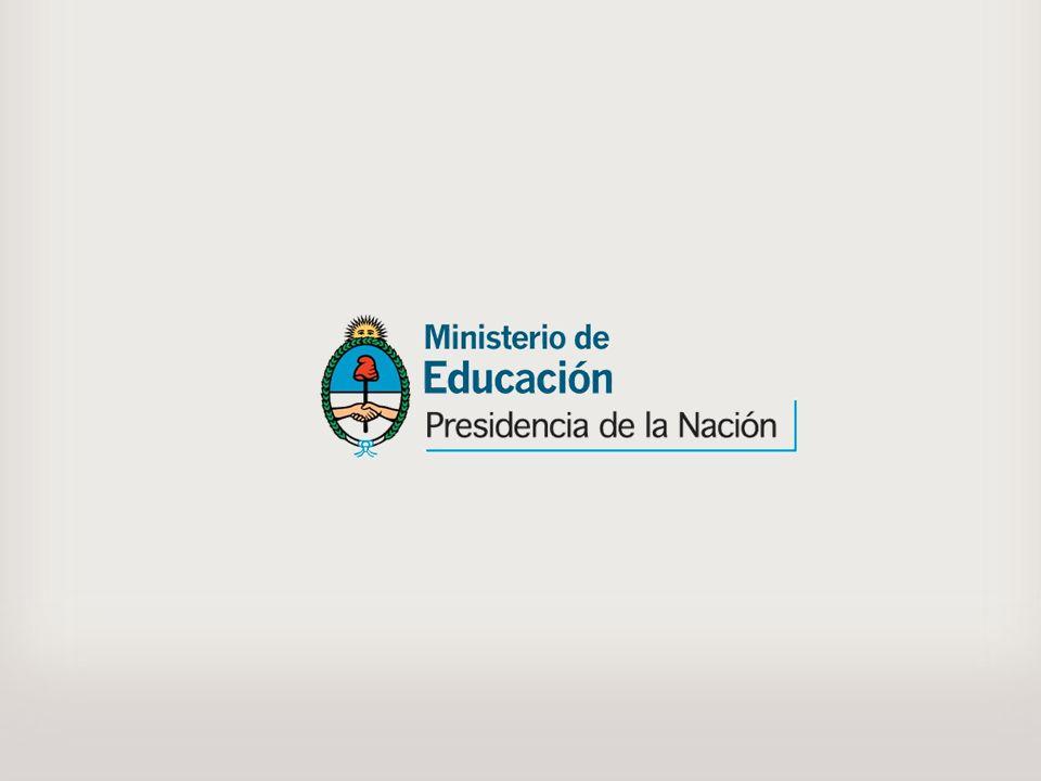 Se confeccionaron afiches y trípticos para informar a la comunidad educativa sobre el Sistema Federal.