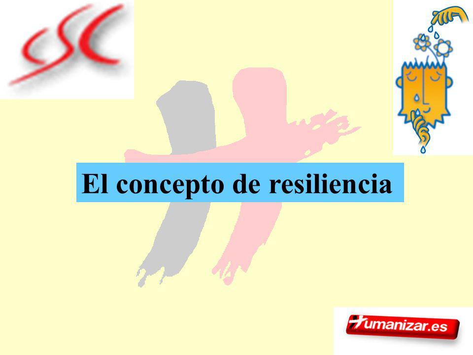 14 El concepto de resiliencia