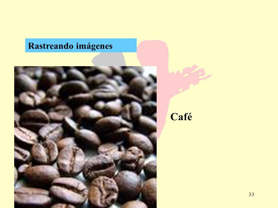 33 Rastreando imágenes Café