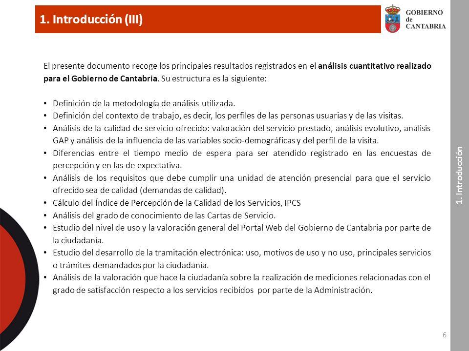 97 7.Índice de Percepción de la Calidad del Servicio, IPCS (I) 7.