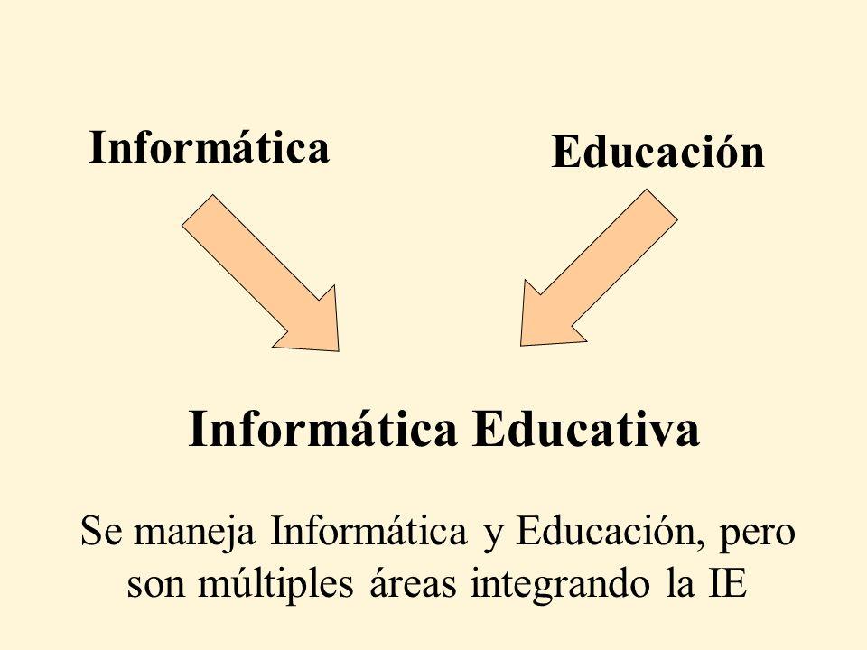 Cuando se habla de Informática en Educación, en general la gente solo piensa en el uso de las t i c s en la Educación Antes era el uso de calculadoras, luego computadoras, luego PC´s, ahora son tics, pero se sigue pensando solo en el uso de tecnologías y nada mas Creer que las tics es lo único de la Informática que se aplica en Educación Es como creer que lo único que importa para la salud es el uso de medicamentos olvidándose de la medicina, la higiene, la alimentación, la psiquiatría, la biología, etc.,