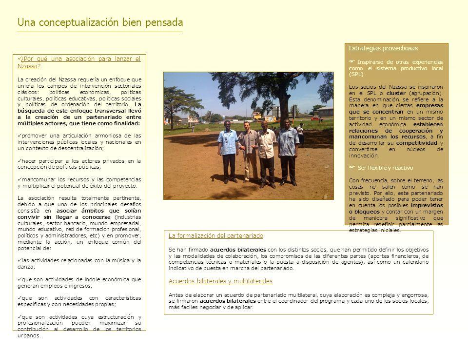 Recursos financieros cruzados e internacionales La creación del partenariado se llevó a cabo gracias a la financiación de: el Ministerio de Asuntos Exteriores y Europeos (Francia); la UNESCO (Alianza Global para la Diversidad Cultural) y la AECID (Agencia Española de Cooperación Internacional para el Desarrollo); la Organización Internacional de la Francofonía (OIF); la Unión Europea – Programa de apoyo UE-ACP para las industrias culturales del Grupo ACP.
