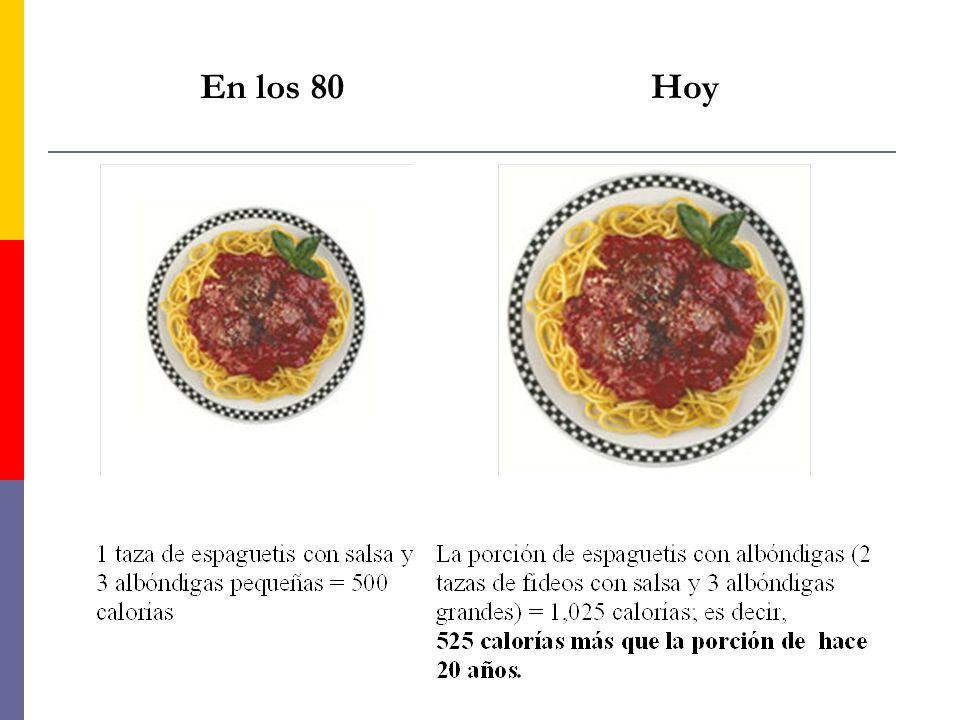 Distorsión de las porciones Adivine cuánto tiempo tiene que limpiar la casa para poder quemar estas 525 calorías adicionales: a) 1 hora y 25 min.