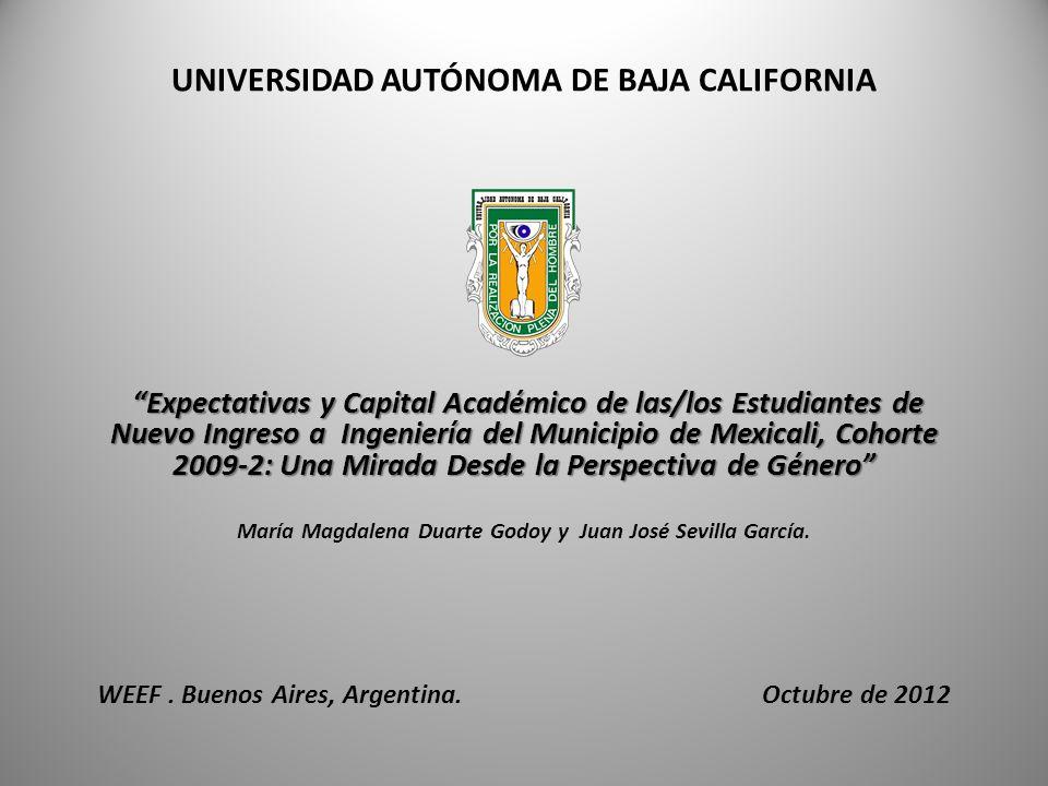 ORGANIZACIÓN Información sobre estudiantes de ingeniería en general y en particular sobre mujeres.