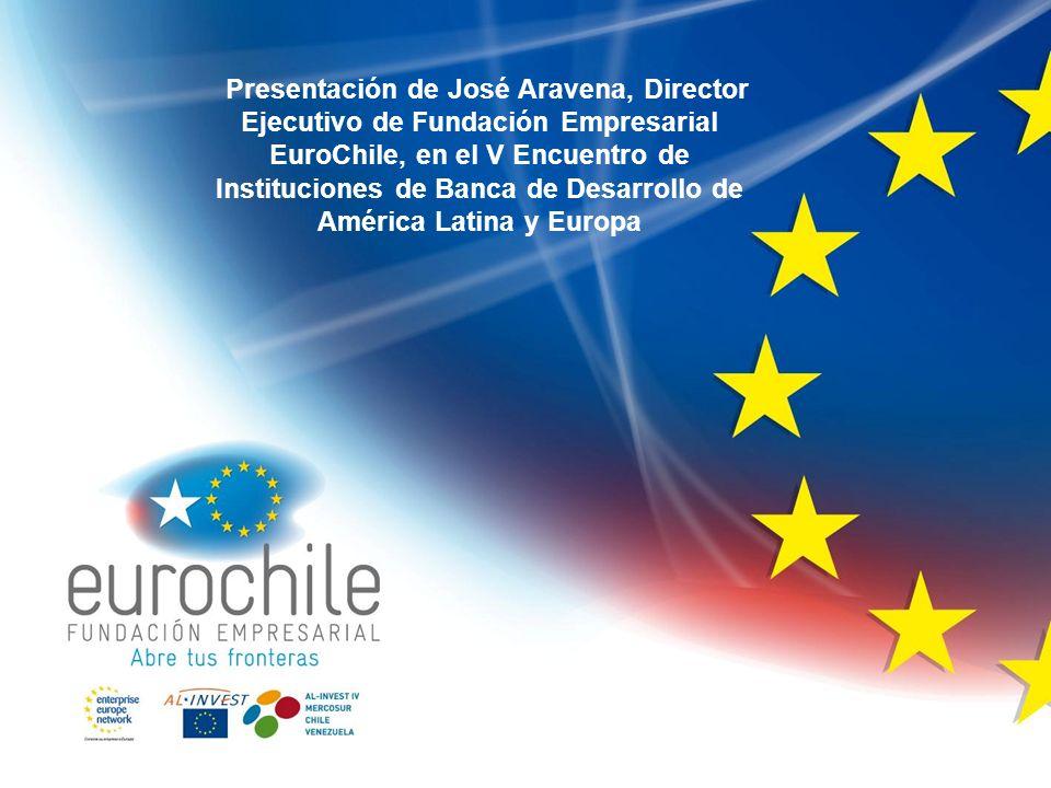 Presentación de José Aravena, Director Ejecutivo de Fundación Empresarial EuroChile, en el V Encuentro de Instituciones de Banca de Desarrollo de Amér