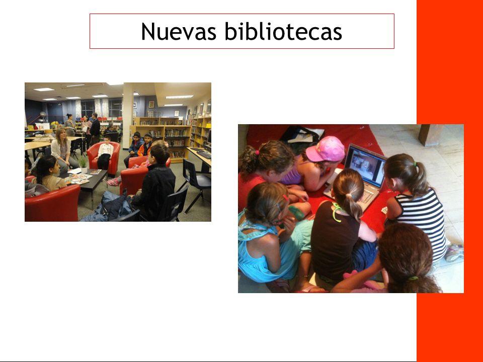 37 Nuevas bibliotecas