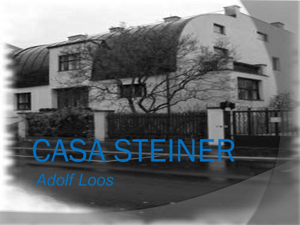 CASA STEINER Adolf Loos