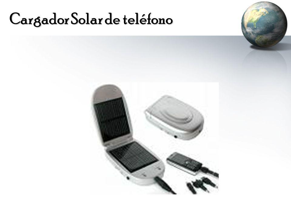 Cargador Solar de teléfono