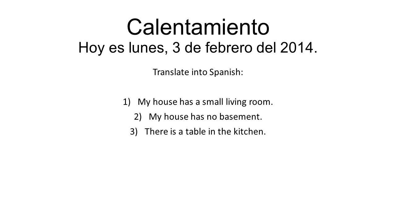 DIALOGO Tiene tu casa una cocina.Si, mi casa tiene una cocina.