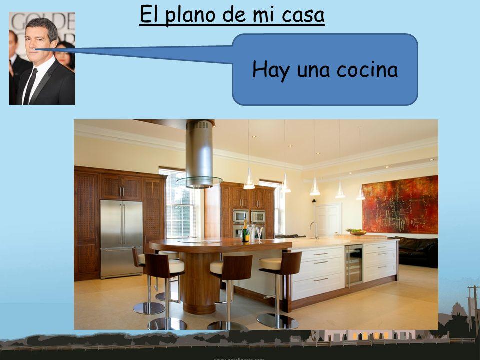 El plano de mi casa Hay una cocina