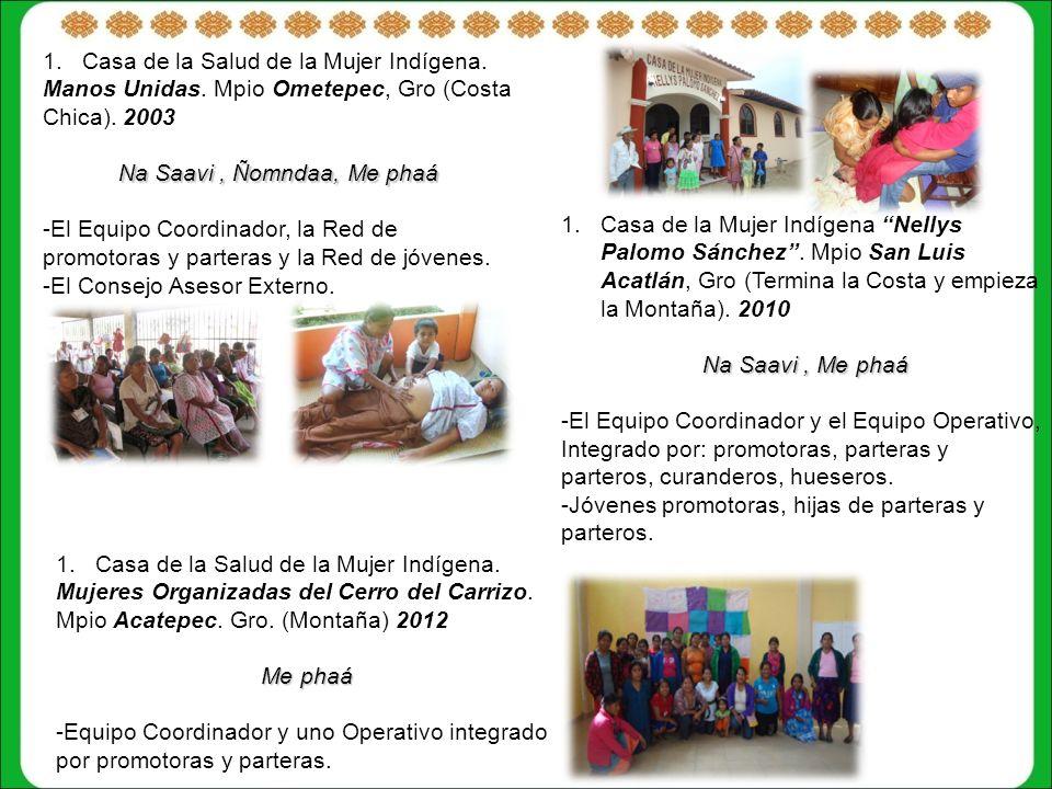 1.Casa de la Salud de la Mujer Indígena.Manos Unidas.