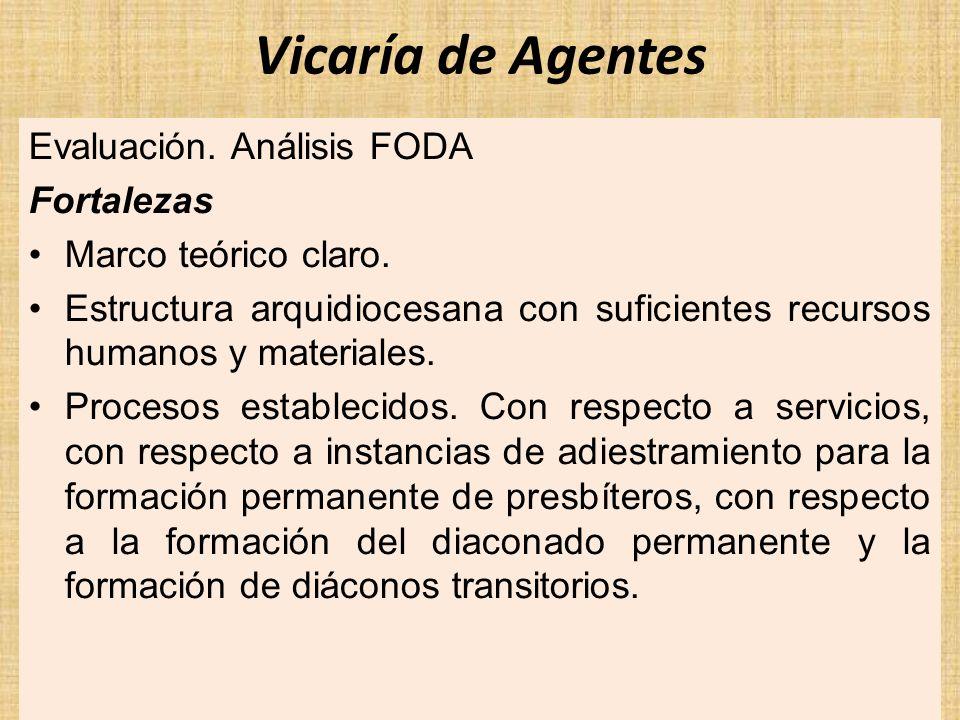 Comisión de Promoción Vocacional Fortalezas: Los diversos talleres de formación que ofrece la comisión, por ejemplo: – Capacitación mensual a los Promotores.