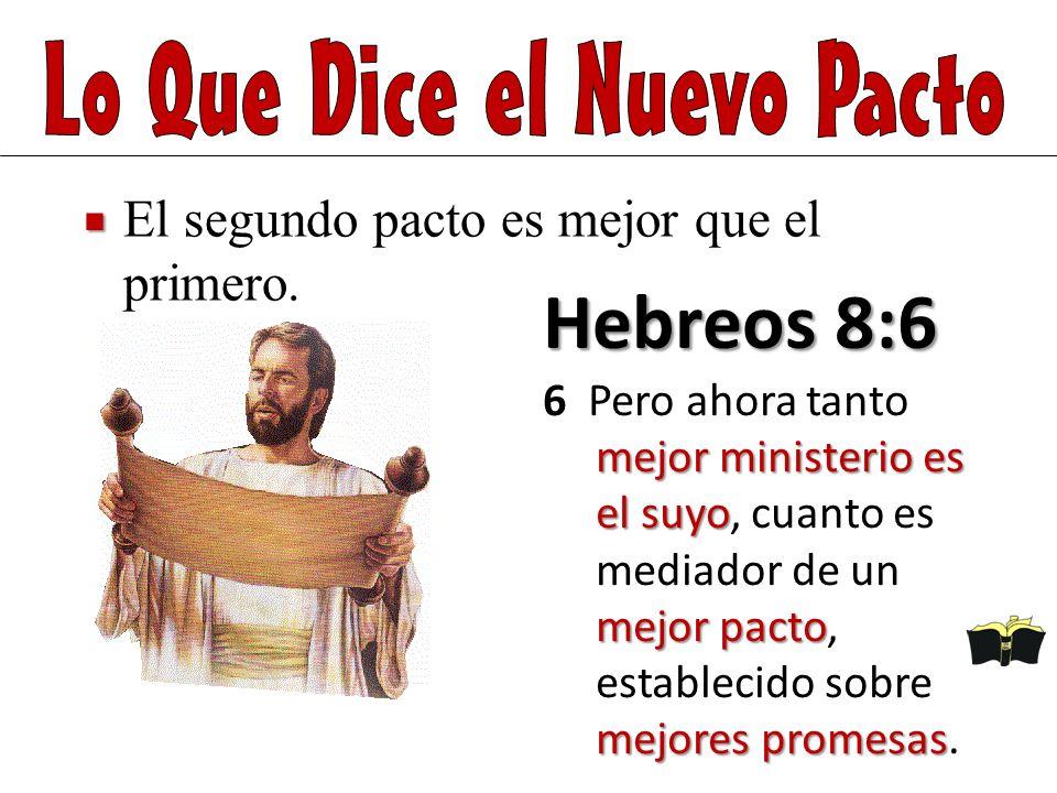 Hebreos 8:6 mejor ministerio es el suyo mejor pacto mejores promesas 6 Pero ahora tanto mejor ministerio es el suyo, cuanto es mediador de un mejor pa