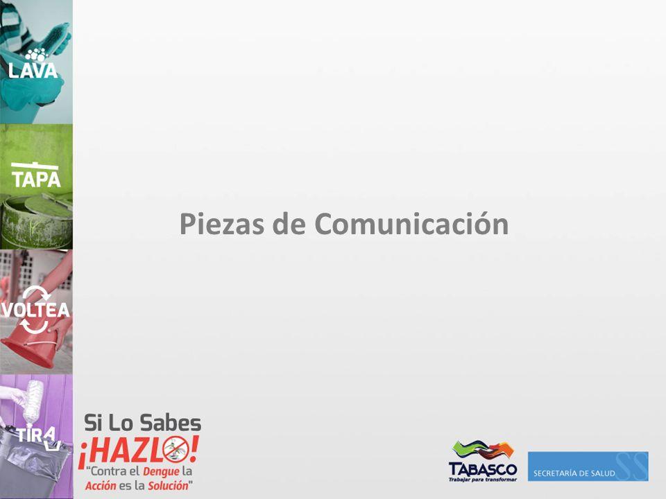 Piezas de Comunicación