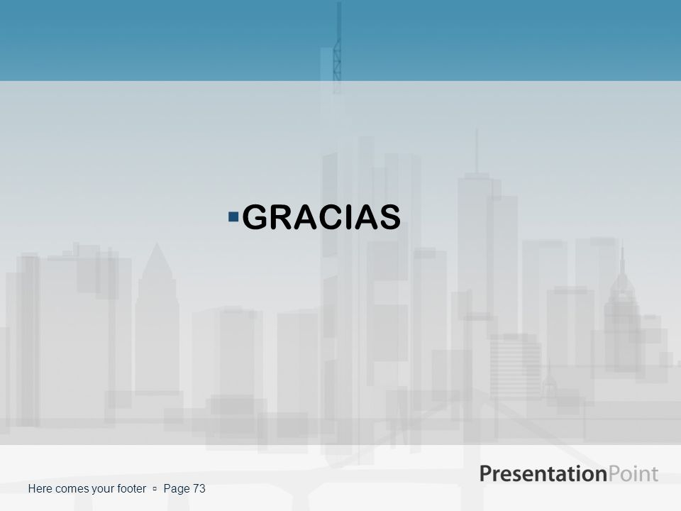 GRACIAS Here comes your footer Page 73
