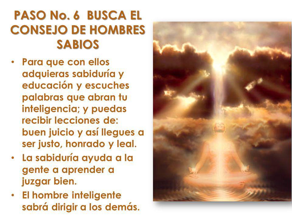 Para que con ellos adquieras sabiduría y educación y escuches palabras que abran tu inteligencia; y puedas recibir lecciones de: buen juicio y así llegues a ser justo, honrado y leal.