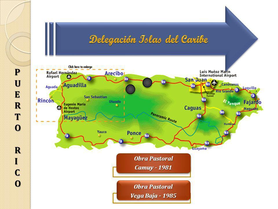 Puerto Rico Obra Pastoral Camuy - 1981 Obra Pastoral Vega Baja - 1985 PUERTORI PPUUEERRTTOORRIICOCOPPUUEERRTTOORRIICOCO