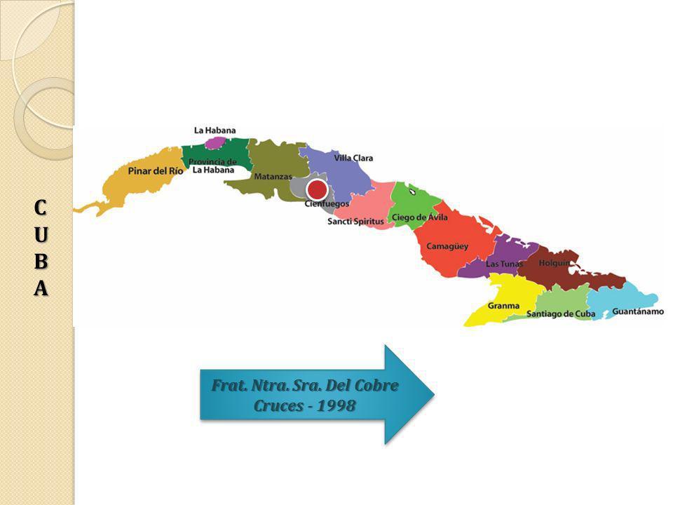 Frat. Ntra. Sra. Del Cobre Cruces - 1998 Frat. Ntra. Sra. Del Cobre Cruces - 1998 CUBACUBACUBACUBA