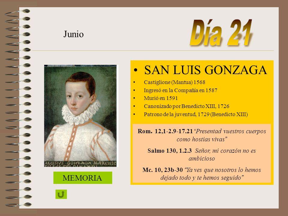 BEATO JOSÉ ANCHIETA Sacerdote 1534 La Laguna (Tenerife) 1597 Reritiba (Brasil) Junio Rom 10, 8-15.17 La fe nace del mensaje y el mensaje consiste en h