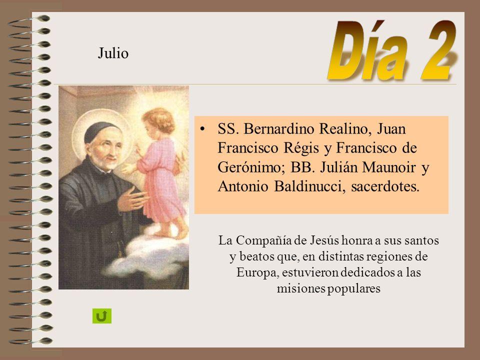 SAN LUIS GONZAGA Castiglione (Mantua) 1568 Ingresó en la Compañía en 1587 Murió en 1591 Canonizado por Benedicto XIII, 1726 Patrono de la juventud, 17