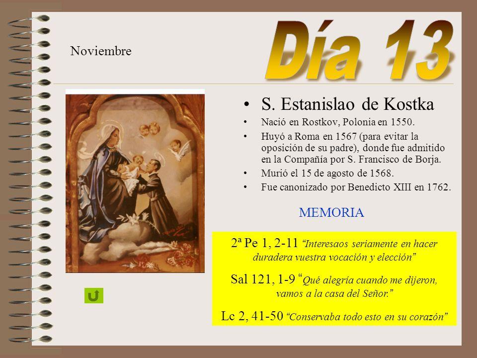Conmemoración de todos los difuntos de la Compañía de Jesús. Noviembre Sab 3, 1-9 Los recibió como sacrificio de holocausto Sal 129, 1-8 Desde lo hond