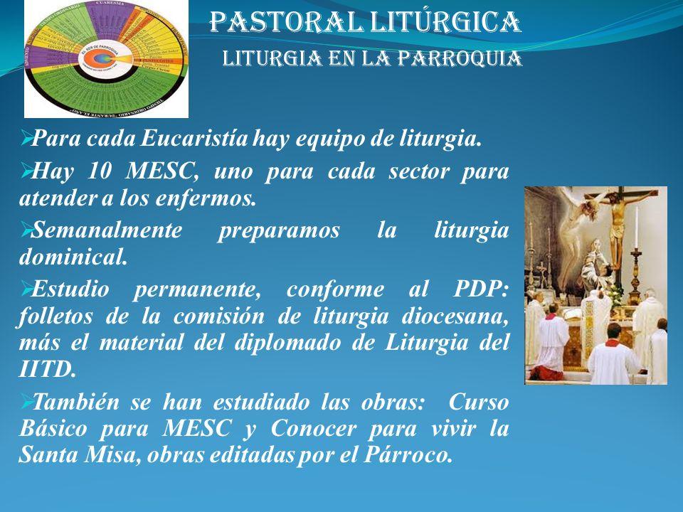 Convento y Tercera Orden: 9 Catequistas 150 niños de Kinder y primaria San Vicente y Santiaguito: Catequistas 10 (san Vicente) S. de Guadalupe del Cen