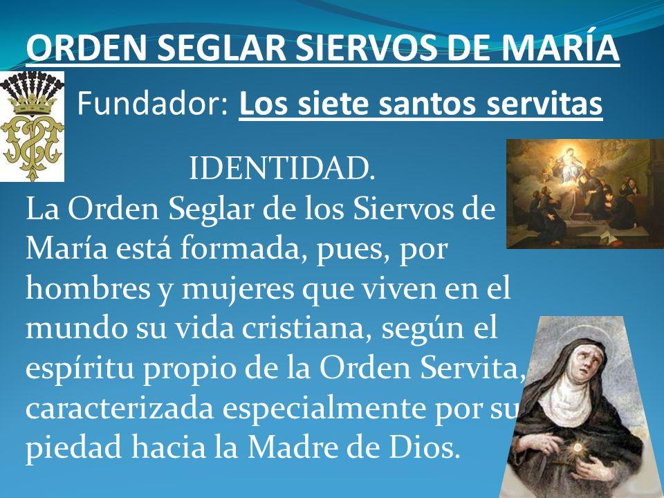 MOVIMIENTOS PARROQUIALES MÁS ACTIVOS Orden Seglar de los carmelitas descalzos Fundador: Santa Teresa de Ávila IDENTIDAD Somos fieles que por especial