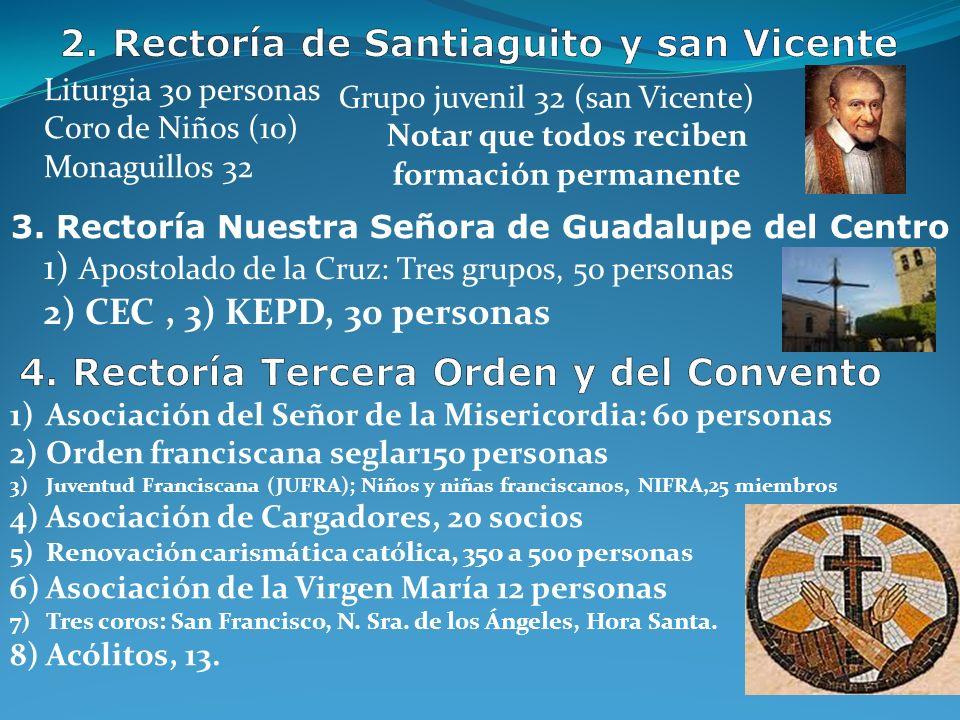 COFRADÍA DEL SANTO ROSARIO La Cofradía del Rosario es una asociación espiritual cuyos miembros rezan un Rosario de quince misterios por semana (se pue
