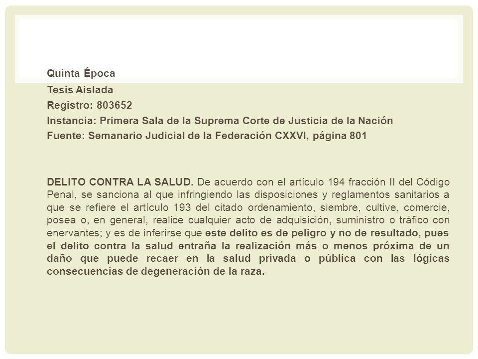 Quinta Época Tesis Aislada Registro: 803652 Instancia: Primera Sala de la Suprema Corte de Justicia de la Nación Fuente: Semanario Judicial de la Fede