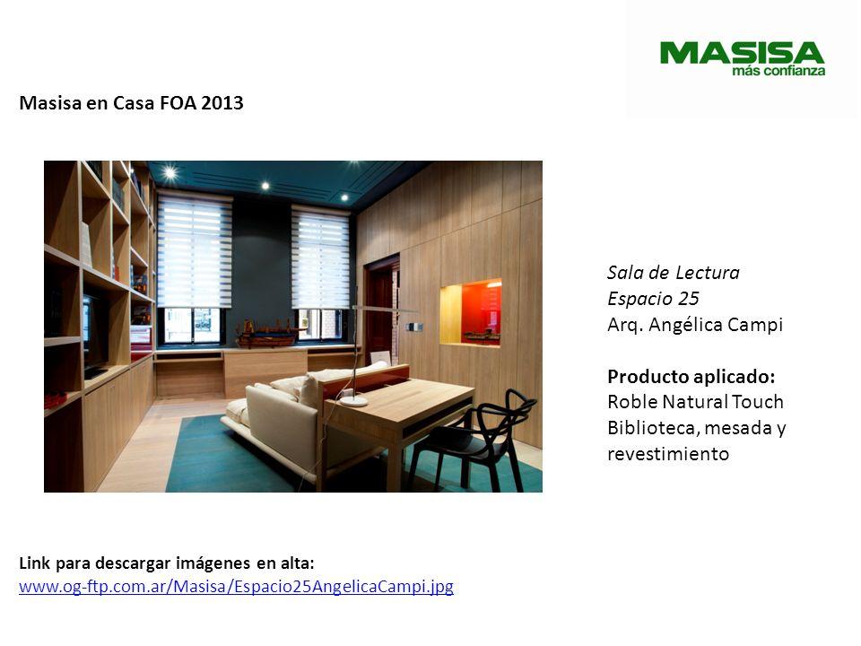 Masisa en Casa FOA 2013 Dormitorio para un hombre de negocios Espacio 29 Arq.