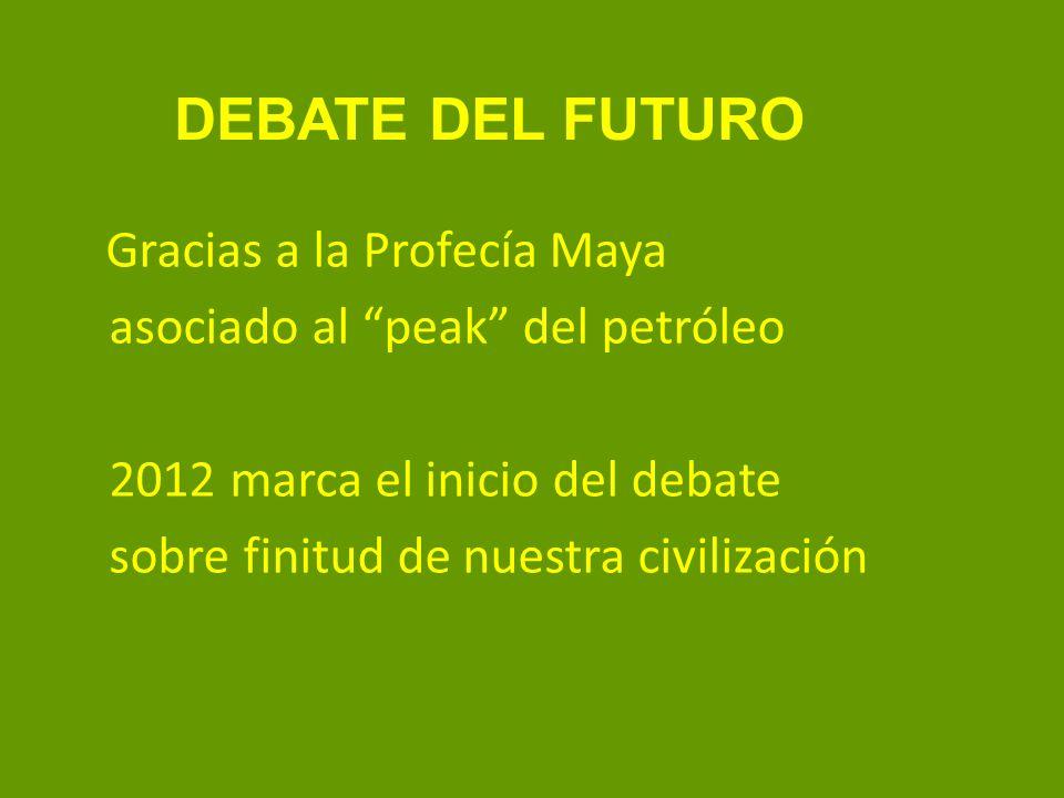 Fin del petróleo 2012 en adelante decaimiento progresivo de la producción del petróleo 2012 en adelante decaimiento de la civilización industrial - progresivo - súbito (colapso)