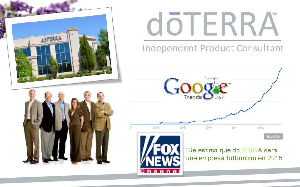 Se estima que doTERRA será una empresa billonaria en 2015