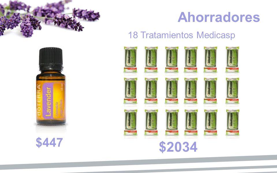 Ahorradores $447 $2034 18 Tratamientos Medicasp