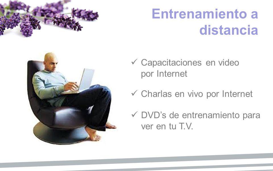 Entrenamiento a distancia Capacitaciones en video por Internet Charlas en vivo por Internet DVDs de entrenamiento para ver en tu T.V.