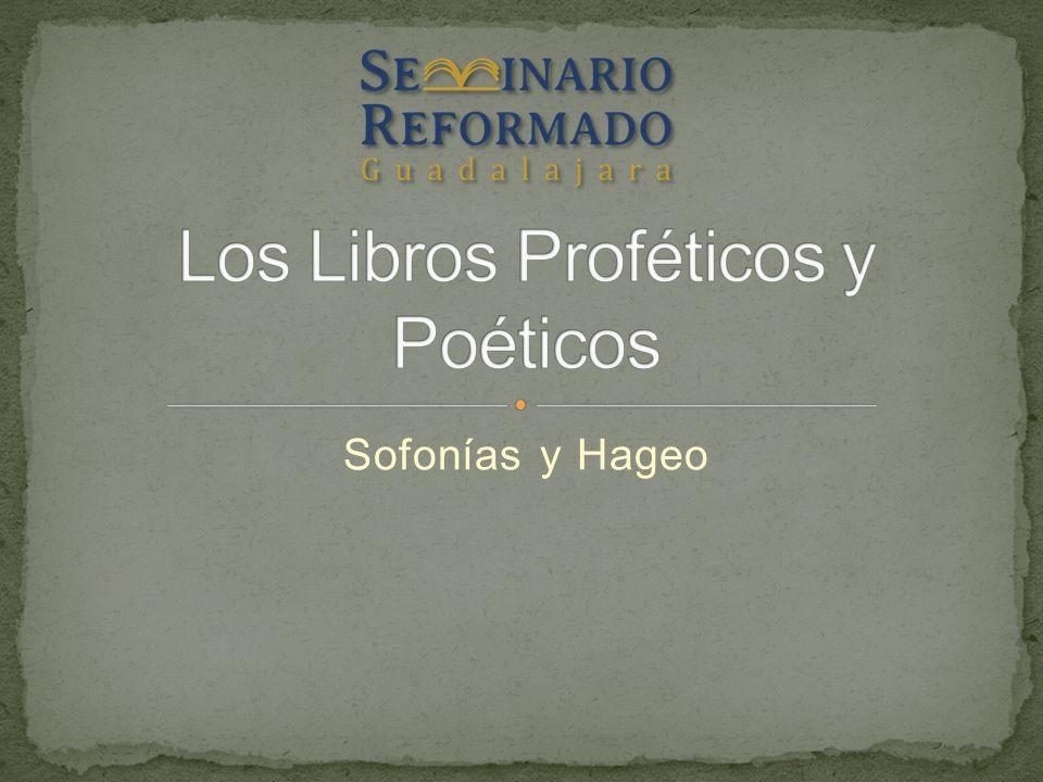 Sofonías y Hageo
