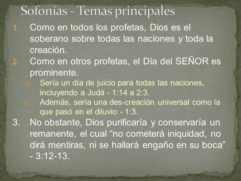 1.De hecho, el segundo templo nunca logró tener la gloria del templo de Salomón.