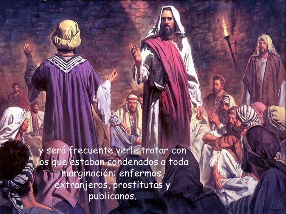 Jesús romperá ese elenco maldito, ante el escándalo de los hipócritas,