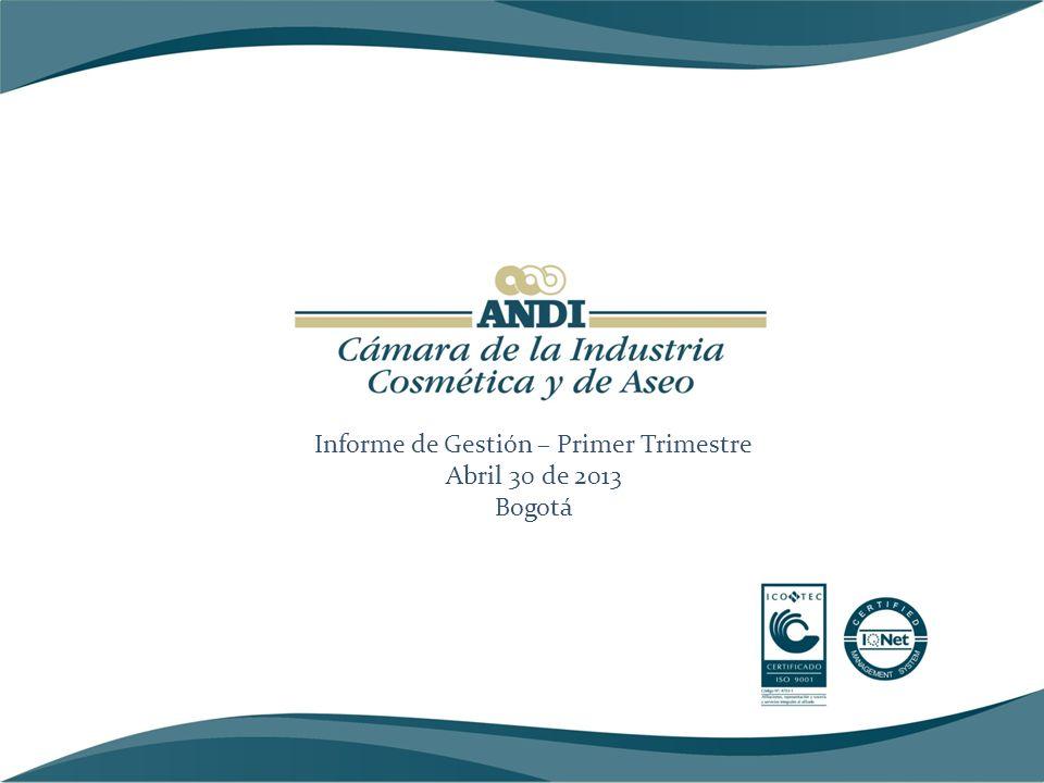 FORTALECIMIENTO GREMIAL Logros Asistencia de Cabezas o Vicepresidentes de empresas a las Juntas Directivas: # Afiliados: 52.