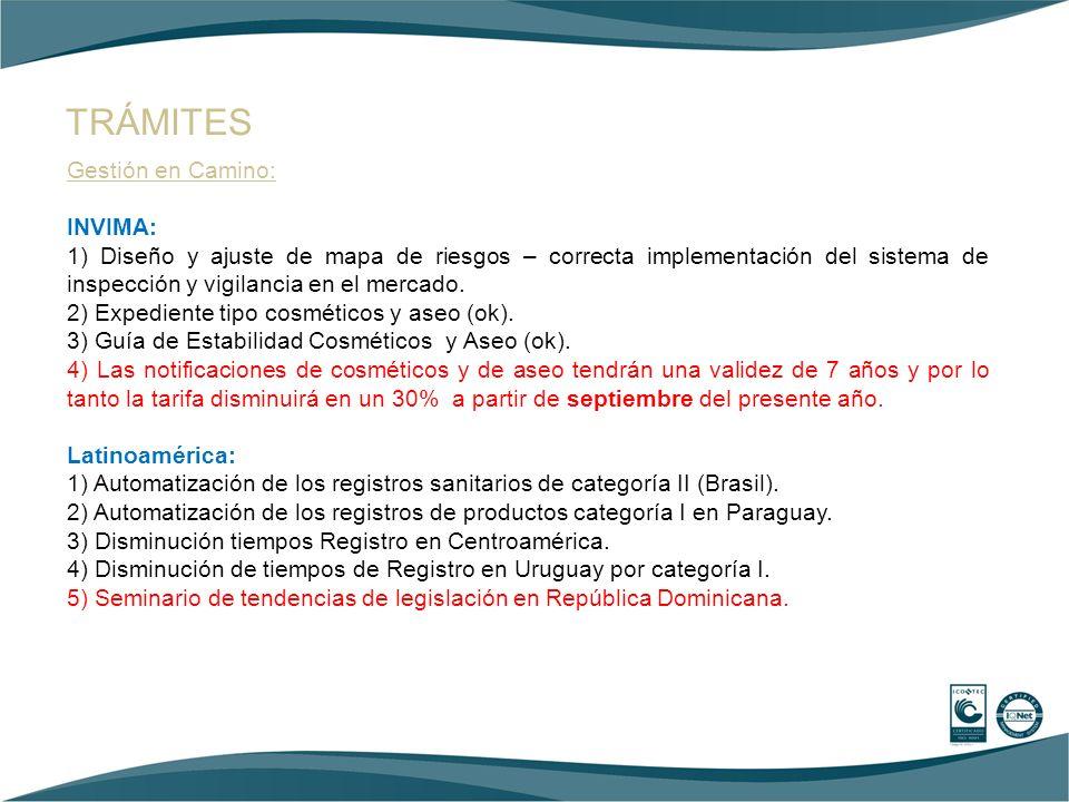 Gestión en Camino: Empresas visitadas: OMNILIFE, SCANDINAVIA PHARMA, Segundo informe de Sostenibilidad sectorial..