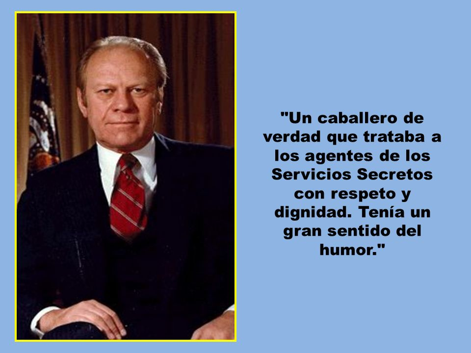GERALD Y BETTY FORD