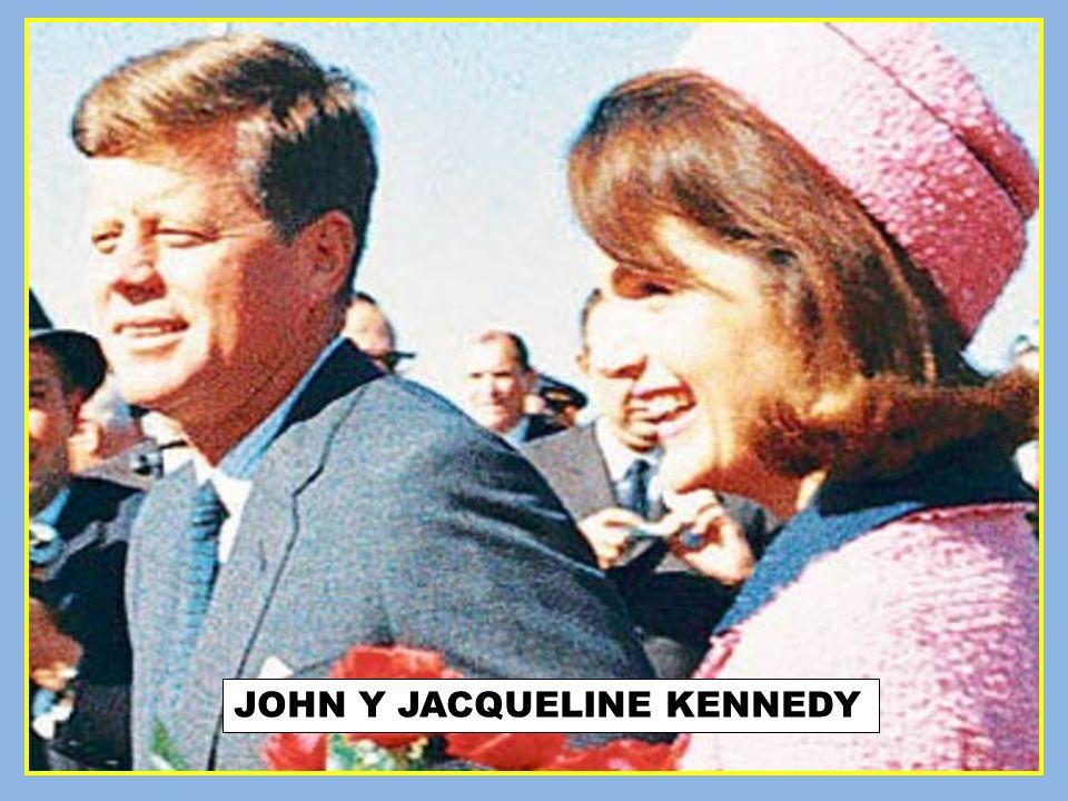 JOHN Y JACQUELINE KENNEDY