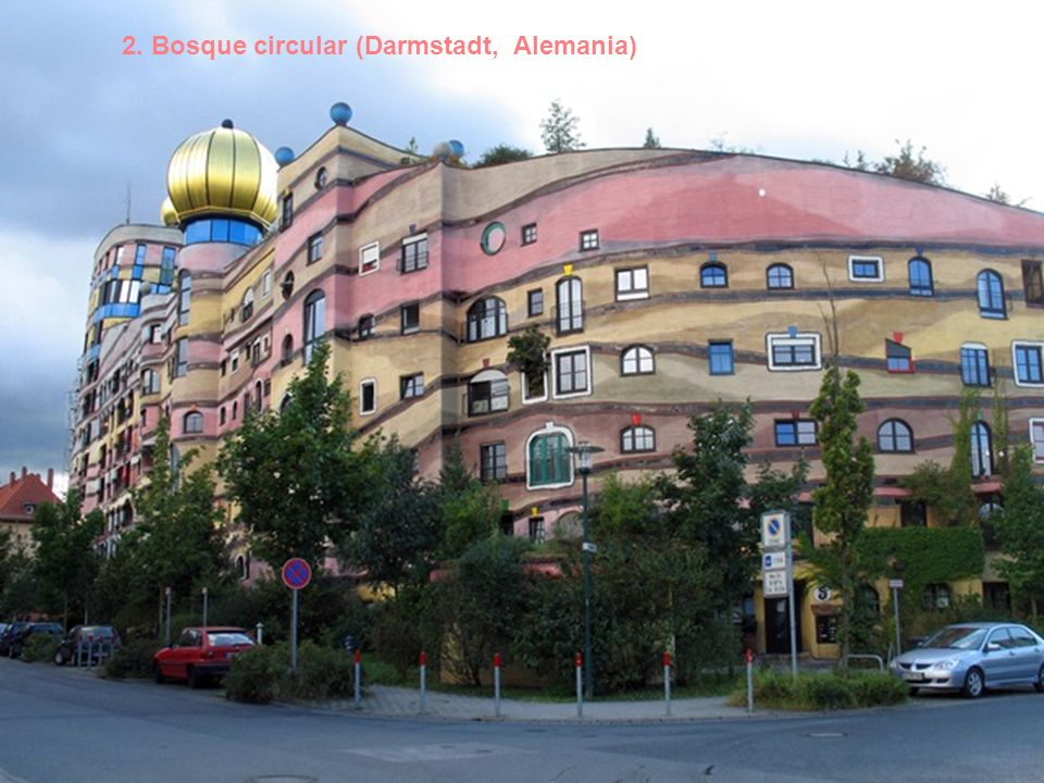 1. La casa torcida (Sopot, Polonia)