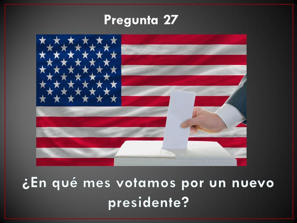 Pregunta 27