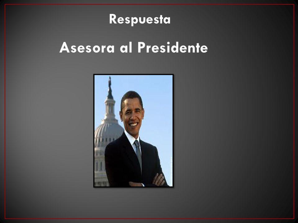 Respuesta Asesora al Presidente