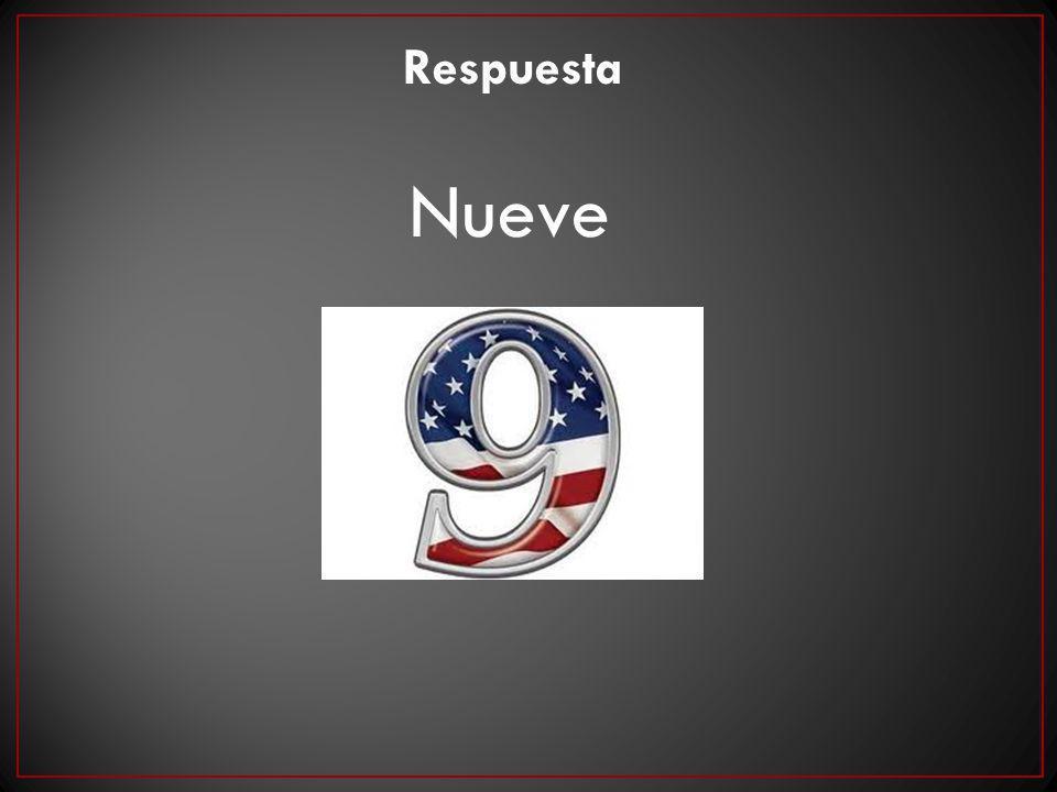 Respuesta Nueve