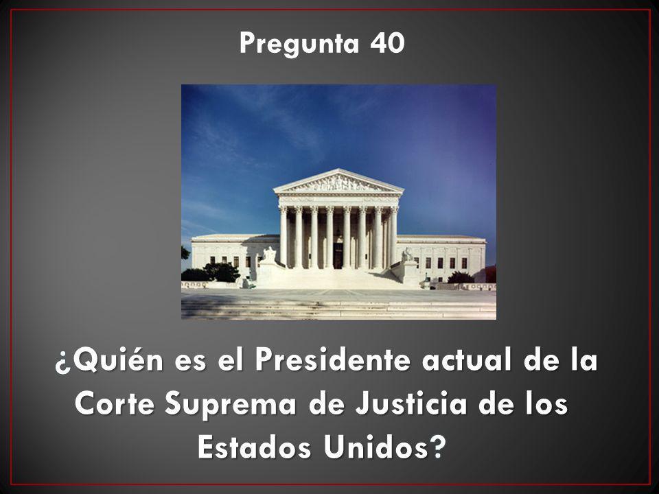 Pregunta 40