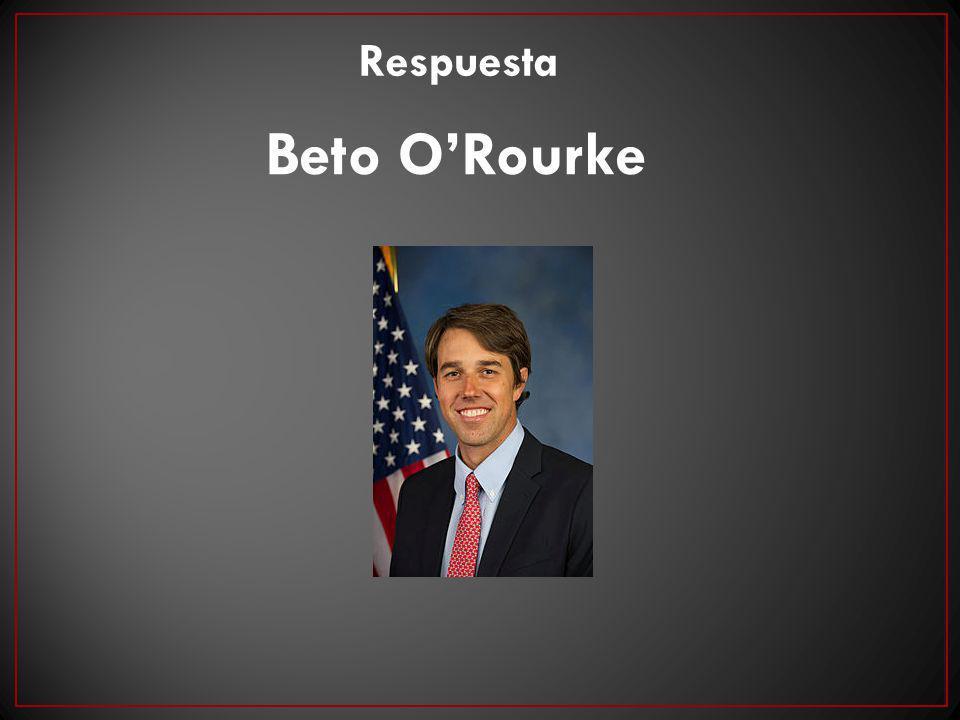 Beto ORourke Respuesta